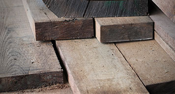 Rough lumber